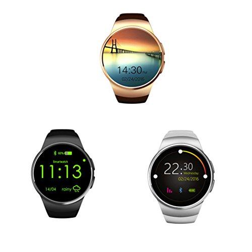 Fitness Armbanduhr SIM TF Uhr smart watch herren Herzfrequenz-Messgerät Fitness Tracker Bracelet Sport Uhr Telefon Kamera/Schrittzähler/Schlaftracker/ for Android and IOS