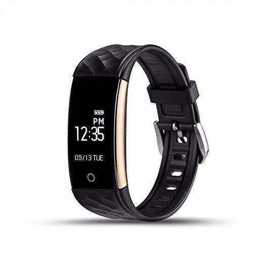 Simanli Wasserdicht Fitness Armband Blutdruckmesser Fitness Tracker Uhr Fitness Armbanduhr Stoppuhr Schrittzähler Aktivitätstracker Pulsmesser für Damen Herren