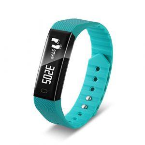 Fuibo Smartwatch, BT4.0 Smart Watch Armband Armband Schrittzähler Sport Fitness Tracker F3 Armbanduhr Sport Fitness Tracker Armband