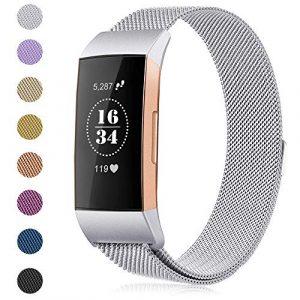 Gogoings Kompatibel mit Fitbit Charge 3 Armband Damen Herren Ersatzarmband Für Fitbit Charge3
