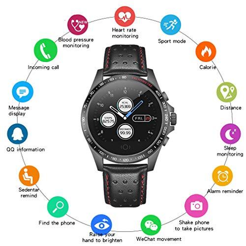 EJOLG IP67 Wasserdichte Smartwatch Unisex,mit Fitness trackers Pulsmesser Kalorienzähler schrittzähler usw.Unterstützt Mehrere Nationalsprachen,Damen und Herren Fitness Armband Uhr