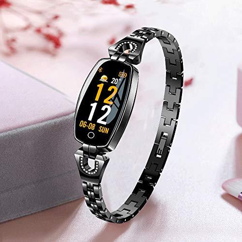 Mode Fitness Tracker   Smartwatch mit Herzfrequenz, Aktivitäts Schrittzähler, Kalorie   0,96 Zoll IPS Bildschirm   Mehrfachsportmodus   Fitness Uhr für Android und IOS Smartphones   Damen Herren