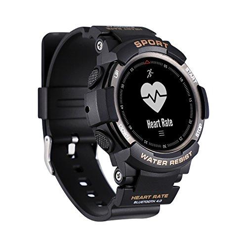 N NEWKOIN Sport Smart Watches Aktivitätstracker IP67 Wasserdicht Armbanduhr Tragbar Sportuhr Fitness Tracker für Herren Damen Kinder(Schwarz)