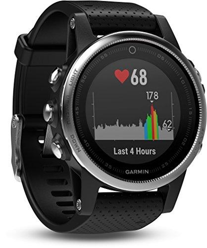 Garmin fenix 5 GPS-Multisport-Smartwatch, Herren, Herzfrequenzmessung am Handgelenk, Sport- und Navigationsfunktionen