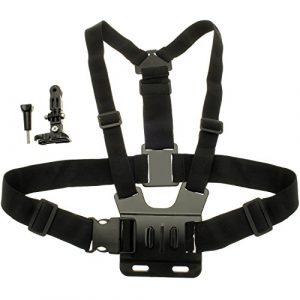 Optix Pro Brust Halterung Körper Gurt für Sport Action-Kameras einschließlich GoPro Hero5 schwarz & Session, 4, 3+, 3, 2, 1, Session