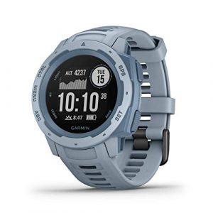 Garmin GPS-Multisport-Smartwatch Instinct hellblau (299) 000