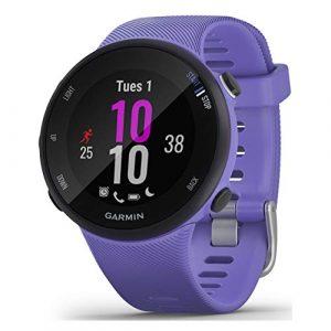 Garmin Forerunner 45/45 S – GPS-Laufuhr im schlanken und leichten Design, Trainingspläne, Fitness Tracker