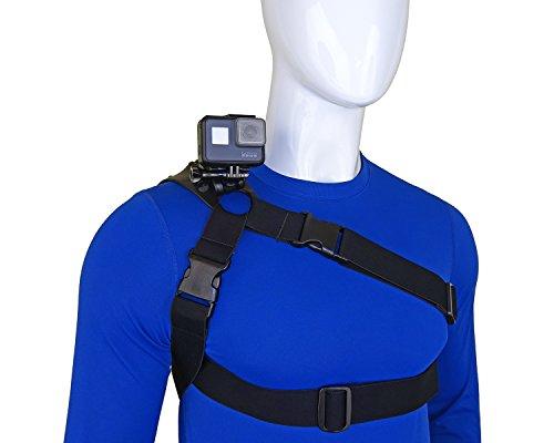 STUNTMAN 360 - Schulter Brust und Hüfte Mount für Action-Kameras