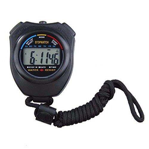 Sport Stoppuhr Professional Handheld Digital LCD Sport Stoppuhr Countdown Timer