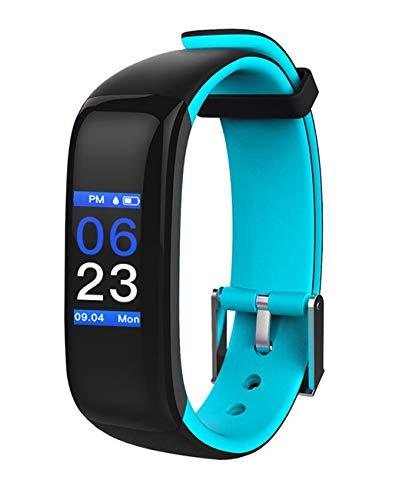 QUDER P1+, Damen und Herren Fitness Armband-wasserdicht OHNE Brustgurt inkl.Schlaf Monitor-smartwatch-Fitness Tracker