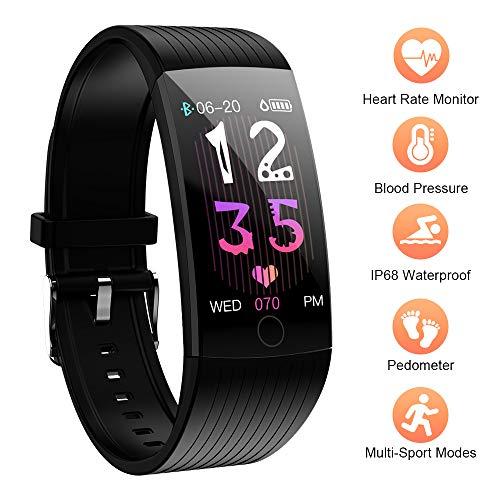 Fitness Tracker, Wasserdicht IP68 Fitness Armband mit..
