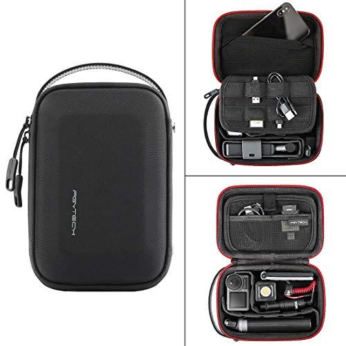 NURICH PGYTECH Actionkameras Mini Handkoffer Tragetasche Tasche für DJI OSMO Action Cam, wasserdicht