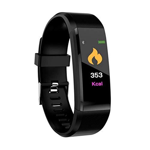 Zelta 115 Plus schwarz, sportlich, Moderne und federleichte Smartwatch zur Aufzeichnung, Auswertung und Optimierung deiner Sport-Aktivitäten mit einfacher Touchbedienung.