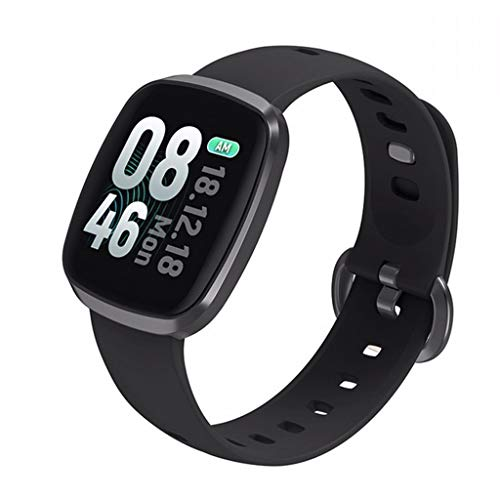 LRWEY Fitness Armband mit Pulsmesser, Smart Watch Sports Fitness Tracker Activity Heart Rate Blood Pressure Calories Monitoring, für iPhone Android Handy