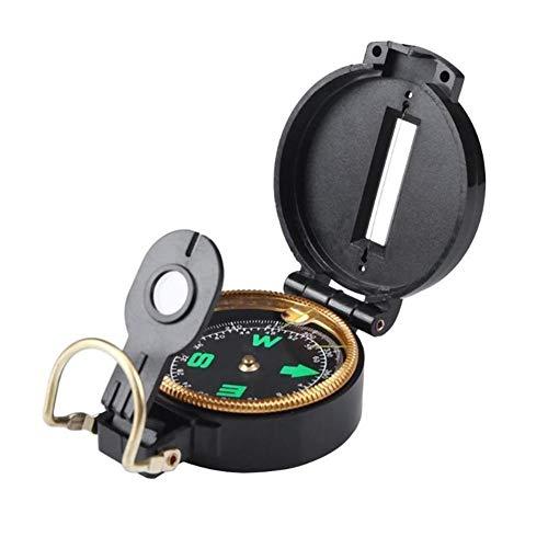 Liutao Kompasse Tragbare Kunststoff Outdoor Camping Kompass Werkzeug Zubehör Navigation Wild Tools for Camping Wandern Norden Navigation Überleben Langlebig Kompasse