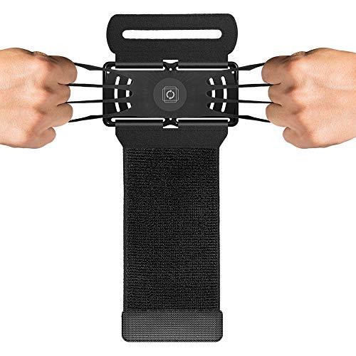 AWIS Sport Armband für 4.0-5.5 inch Smartphones,180°Drehung Armbänder für Laufen,Joggen,Radfahren,Trainning,mit Schlüsseltasche&Verstellbarem Band
