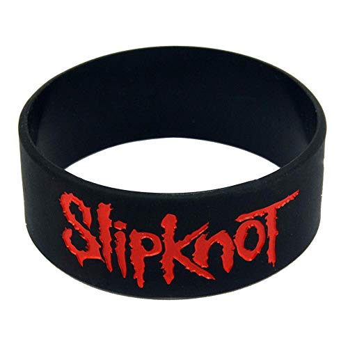 TtKj Silikon-Armbänder mit Sprüchen Slipknot Kautschuk Armbänder für Herren und Kinder Ermutigung Set der Stücke