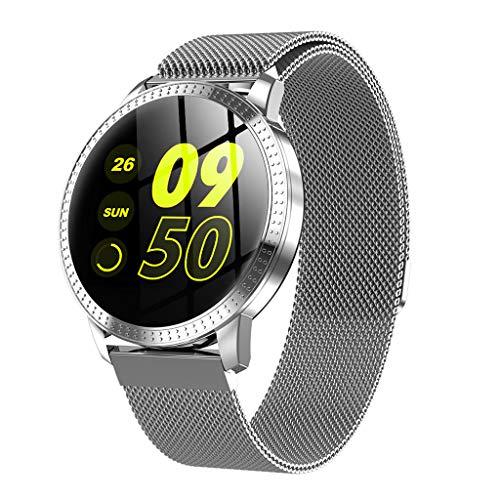 MObast Uhren Smartwatch für Android mit Herzfrequenz Tracker Blutdruck Pulsuhren Wasserdicht IP67 Elegant Sport Armband