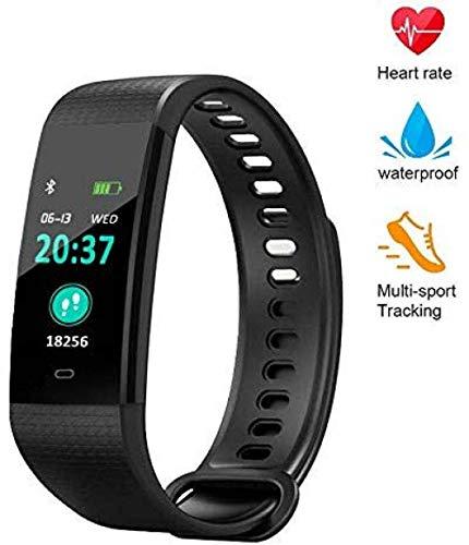 SSXZ-Blutdruckmessgerät, Farbdisplay-Fitness-Tracker mit Herzfrequenz-Blutsauerstoffmessgerät, intelligentes Armband mit Kalorienzähler