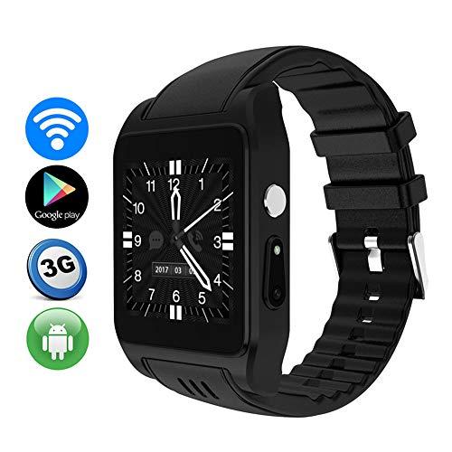 TLgf Smart Watch Heart Rate Monitor Bluetooth Headset Call WiFi Zwei-Wege-Positionierung, HD-Kamera, Support SIM Card, Android-System