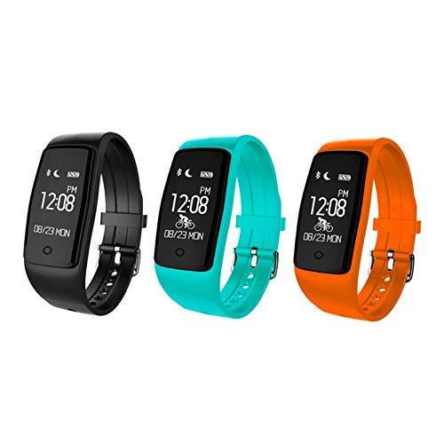 KawKaw S1 Smartwatch mit OLED-Display, Pulsmesser, Stoppuhr & Aktivitätstracker - Integrierter Kalorienzähler, Fitnesstracker, Health Monitor und Herzfrequenz-Erkennung für Damen, Herren & Kinder