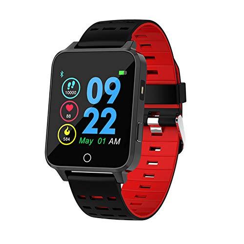Smart Watch Blood Pressure Männer Frauen Silikon Smartwatch Herzfrequenz Schwimmer IP68 Wasserdicht für IOS Android Phone