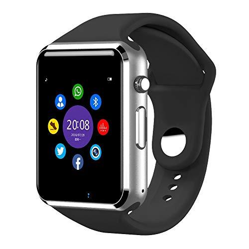 NICREB Armbanduhr Bluetooth Smart Uhr Sport Schrittzähler Mit SIM Kamera Smartwatch Für Android Smartphone Russland Schwarz