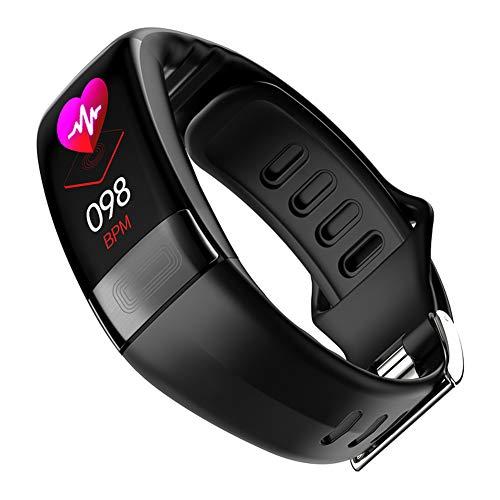 SH-JTL 2 in 1 Smartwatch Bluetooth Fitness Uhr Music SOS Notruf LBS Positionierung Telefonfunktion Voice-Chat Kamera Herzfrequenz Aktivität Schrittzähler Armband für Android und IOS