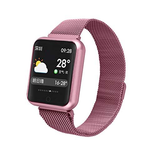 Busirde P68 Smart Watch Blut-Sauerstoff-Blutdruck-Puls-Sport-Aktivität Fitness Tracker wasserdichte IP68 Smartwatch